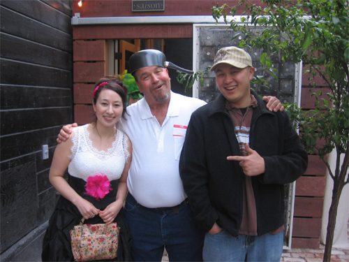 laura shigihara, crazy dave, george fan